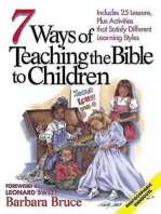 7 Ways of Teaching the Bible to Children