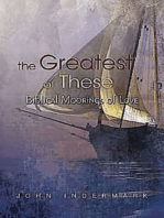 The Greatest of These