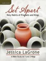 Set Apart - Women's Bible Study Leader Guide