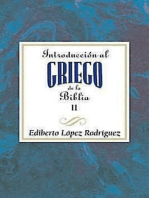 Introducción al griego de la Biblia II AETH: Introduction to Biblical Greek vol 2 Spanish AETH