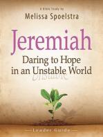 Jeremiah - Women's Bible Study Leader Guide