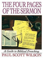 The Four Pages of the Sermon