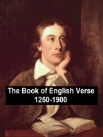 The Book of English Verse 1250-1900