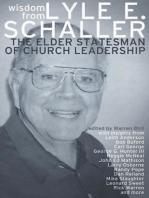 Wisdom from Lyle E. Schaller