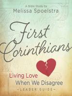 First Corinthians - Women's Bible Study Leader Guide