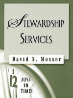 Just in Time! Stewardship Services