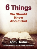 6 Things We Should Know About God Participant WorkBook