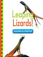 Leaping Lizards!