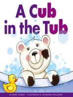 A Cub in the Tub