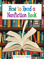 How to Read a Nonfiction Book