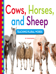 Cows, Horses, and Sheep: Teaching Plural Words