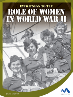 Eyewitness to the Role of Women in World War II