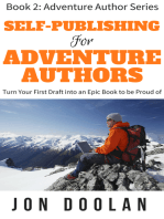 Self-Publishing for Adventure Authors