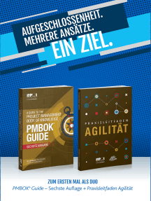 A Guide to the Project Management Body of Knowledge (PMBOK(R) Guide-Sixth Edition / Agile Practice Guide Bundle (GERMAN)