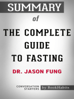 Summary of The Complete Guide to Fasting by Dr. Jason Fung | Conversation Starters