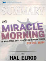 Summary of The Miracle Morning