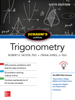 Schaum's Outline of Trigonometry, Sixth Edition