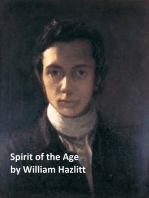 Spirit of the Age or Contemporary Portraits