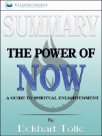 Summary of The Power of Now