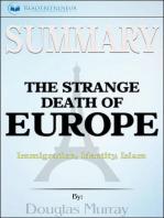 Summary of The Strange Death of Europe