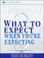 Summary of What to Expect When You're Expecting by Heidi Murkoff