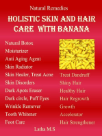 Holistic Skin and Hair Care with Banana