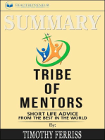 Summary of Tribe of Mentors