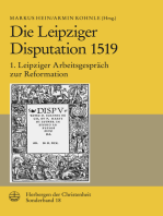 Die Leipziger Disputation 1519