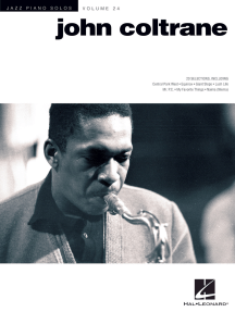 John Coltrane: Jazz Piano Solos Series Volume 24