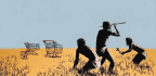 Unidentified Thief Caught On Camera Stealing $45,000 Banksy Print From Exhibit