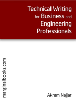 Technical Writing for Business and Engineering Professionals