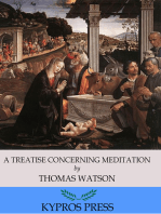 A Treatise Concerning Meditation