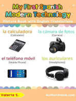 My First Spanish Modern Technology Picture Book with English Translations