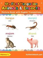 My First Hungarian Animals & Insects Picture Book with English Translations