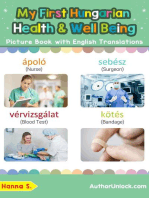 My First Hungarian Health and Well Being Picture Book with English Translations