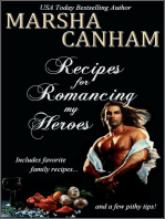 Recipes for Romancing my Heroes