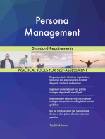 Persona Management Standard Requirements