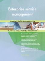 Enterprise service management Complete Self-Assessment Guide