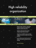 High reliability organization Complete Self-Assessment Guide