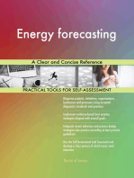 Energy forecasting A Clear and Concise Reference