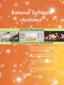 Rational Software Architect Standard Requirements