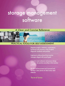 storage management software A Clear and Concise Reference