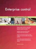 Enterprise control Complete Self-Assessment Guide