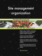 Site management organization Standard Requirements