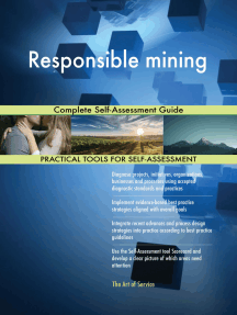 Responsible mining Complete Self-Assessment Guide
