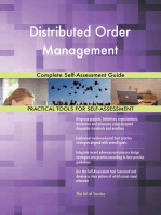 Distributed Order Management Complete Self-Assessment Guide