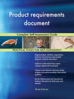 Product requirements document Complete Self-Assessment Guide