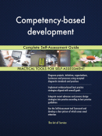 Competency-based development Complete Self-Assessment Guide