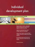 Individual development plan Complete Self-Assessment Guide