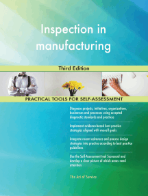 Inspection in manufacturing Third Edition